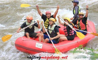 rafting sungai progo atas