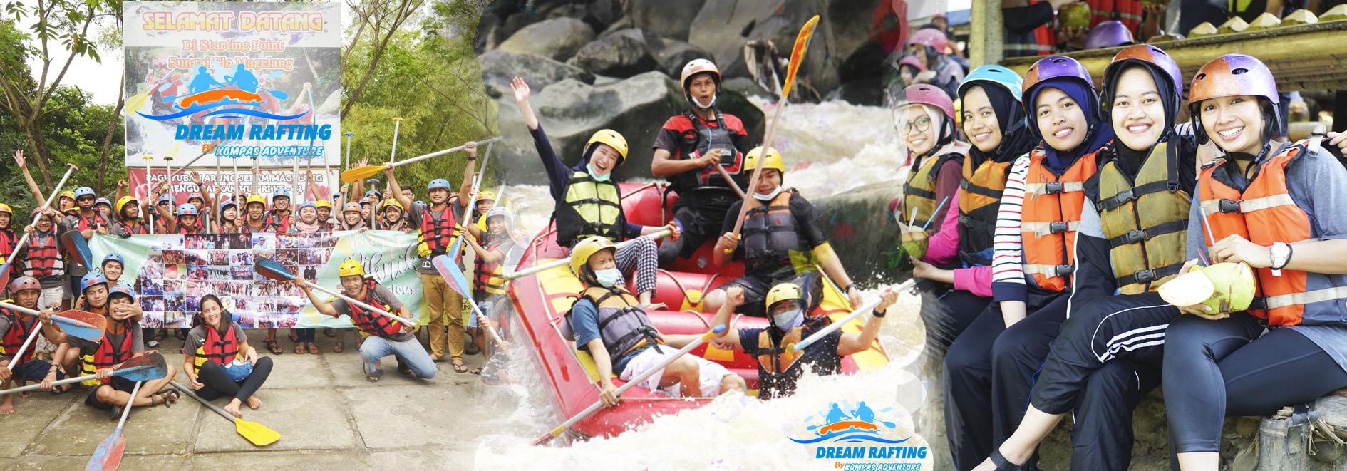 Arung Jeram & Rafting Magelang Jogja - Rafting Sungai Elo