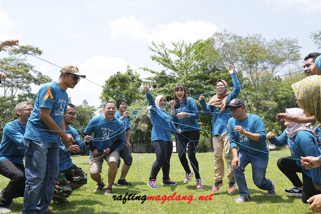 outbound rafting magelang