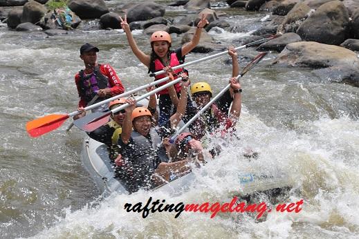 rafting sungai progo Hulu