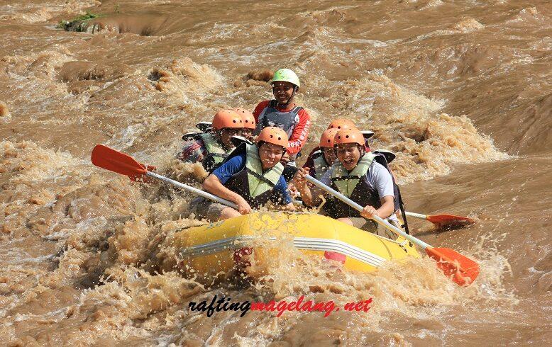 rafting sungai progo bawah