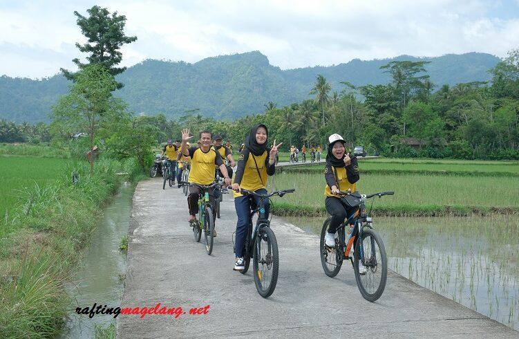 paket cycling tour borobudur