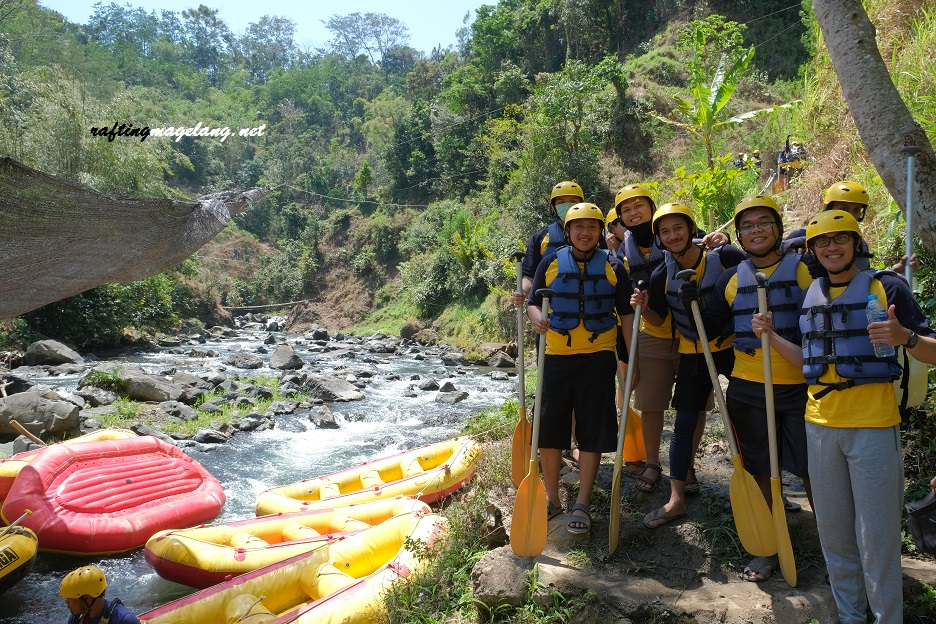 Rafting Sungai Elo Kampung Ulu